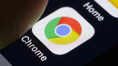Google Chrome, Yeni Güncelleme